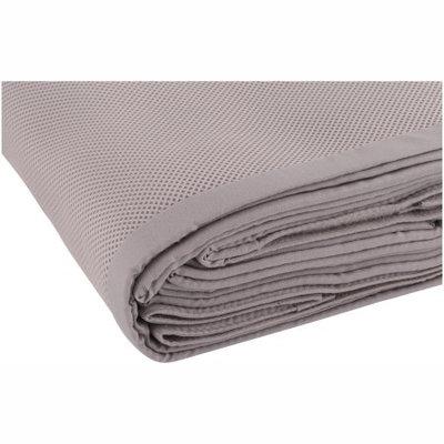 BreathableBaby Mesh Crib Liner, Gray