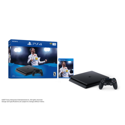 Sony PlayStation 4 Slim 1TB FIFA 18 Bundle, CUH-2115B