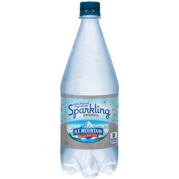 Nestle Ice Mountain Sparkling Natural Spring Water, 33.8 Fl Oz, 12 Count