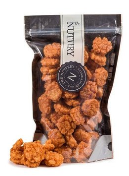 The Nuttery Ny The Nuttey Crispy Chili Rice Cake Crisps Hot and Spicy Flavor Pouch Bags (1lb.)