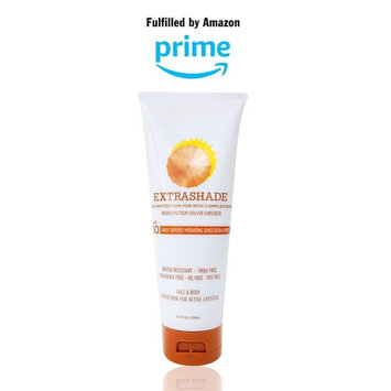 Extrashade Sunscreen, Complete Daily Defense All Day Moisturizer & Hydrating Sunscreen Lotion SPF30 – Broad Spectrum Facial & Body Sunscreen with Hyaluronic Acid for Sensitive Skin – 4.0 Fl Oz