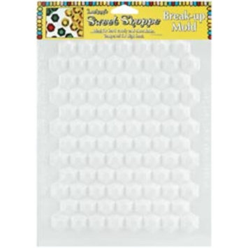 Bulk Buy: Lorann Oils Candy Molds Hexagon Break Up L55-42 (6-Pack)