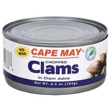 Cape May Chopped Clams in Clam Juice - 3 Pack