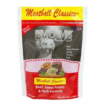 Sunshine Mills Evolve Meatball Classics Beef, Sweet Potato & Herb Formula Dog Treats, 8 oz