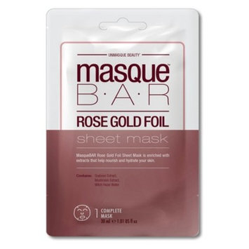 Masque Bar Foil Sheet Mask Rose Gold - 1ct