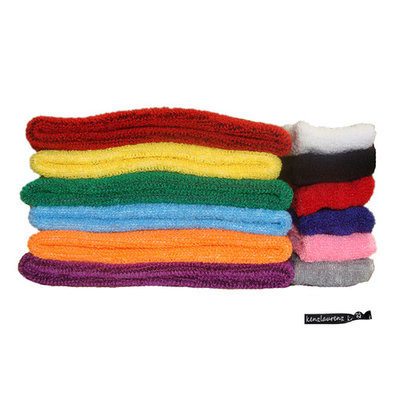 Kenz Laurenz Sweatbands 250 Terry Cotton Sports Headbands Sweat Absorbing Head Band You Pick Colors