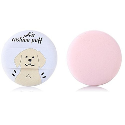 OUFENLI New 3Pcs Beauty Makeup Flawless Smooth Cream Powder Foundation Makeup Foundation Sponge Blender Puff Powder Smooth Puff