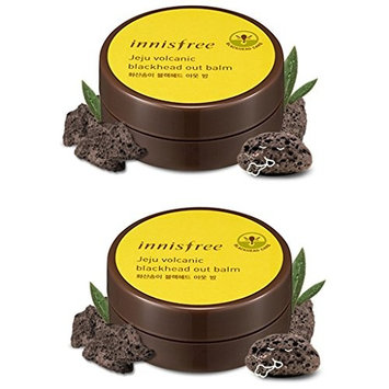 Innisfree Jeju Volcanic Blackhead Out Balm 1.06 Oz/30g x 2 ( Including a Sample as Pic.#2 )