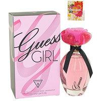 G U E S S Girl Perfume For Women Eau De Toilette Spray 3.4 oz.100 ml. + Free! Sample Perfume Desigual Fresh 0.05 oz Vial