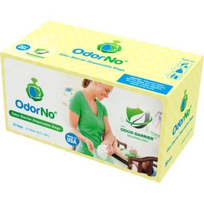 Odor No Odor-No Odor Barrier 2-Gallon Baby Multi-Layer Waste Disposal Bags (20 Count)