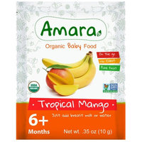 Amara Baby Food Organic Baby Food - Better for Baby, Easy for You. (Tropical Mango)