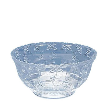 Maryland Plastics 8-qt Clear Punch Bowl