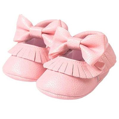 Ouneed Fashion Cute Newborn Baby Boy Girl Baby Soft Shoes Soft Soled Non-slip Footwear Crib Shoe
