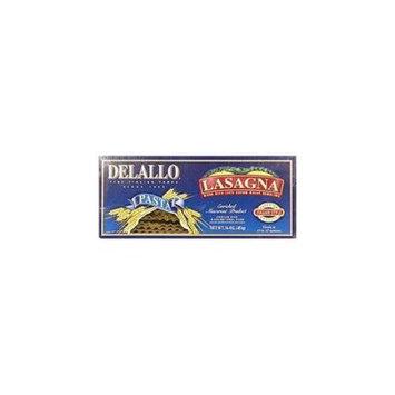 Delallo Pasta Lasgana 16 Oz (Pack of 12)