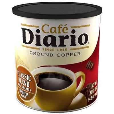 Cafe Diario Classic Blend Medium Roast Ground Coffee, 34.5 oz