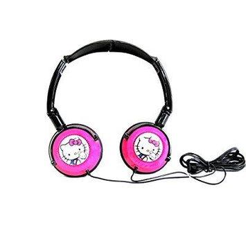HELLO KITTY 11609-HK DJ Style Headphones