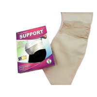 NuValu Maternity Pregnancy Support - Waist / Back / Abdomen Band, Belly Brace - Beige/Tan color