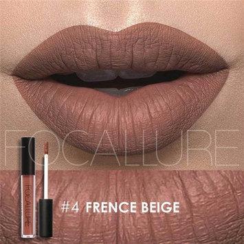 Matte Lipstick Focallure Dark Purple Stay On Glossier Plum Lip Gloss Long Lasting Colorstay Liquid Waterproof Makeup Lipgloss Beige