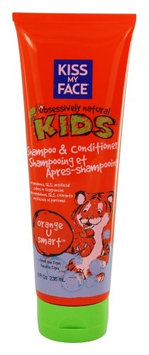 Kiss My Face - Kids Shampoo & Conditioner Orange U Smart - 8 oz.(pack of 2)