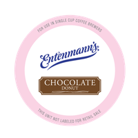 Entenmann's Single Serve Coffee for Keurig, Chocolate Donut, 20 Ct