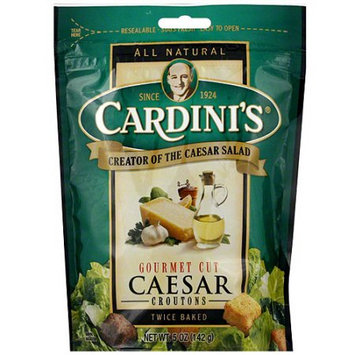 Cardini's Twice Baked Caesar Croutons, 5 oz (Pack of 12)