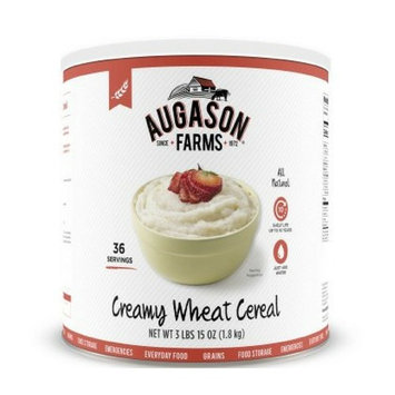 Augason Farms Creamy Wheat Cereal 3 lbs 15 oz (1.8 kg) Can