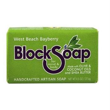Block Soap Bar West Beach Bayberry 4.5 oz