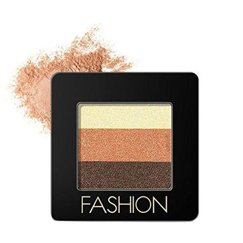 Alonea 3 Colors Cosmetic Makeup Neutral Nudes Warm Eyeshadow Palette