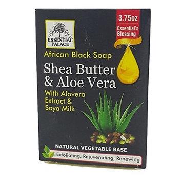 Shea Butter & Aloe Vera with Aloe Vera extract & Soya Milk 3.75 oz