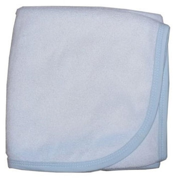 Bambini Layette Blue Plane Hooded Towel