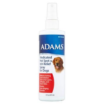 Farnam Company Adams Medicated Hot Spot and Itch Relief Spray for Dogs, 8 oz