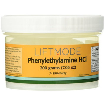 Phenylethylamine HCL (PEA) - 200 Grams (7.05 Oz) - 99+% Pure