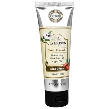 A La Maison de Provence, Hand Cream, Sweet Almond, 1.7 fl oz (50 ml) [Scent : Sweet Almond]