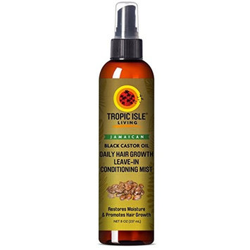 Tropic Isle Living Jamaican Black Castor Oil Daily Hair Growth Leave-in Conditioning Mist 8oz, pack of 1