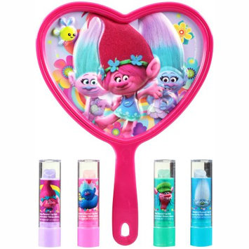 Townley Inc 4PK LIP BALM WITH LIGHT UP MIRROR