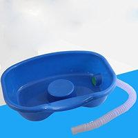 Lecent@ Medical Hair Washing Basin Tray Shampoo Basin for Bed Use(hose*27.6'inch)