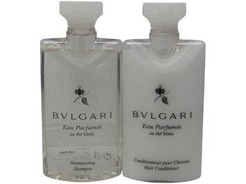 Bvlgari White Tea au the blanc Shampoo & Conditioner lot of 4 (2 of each)