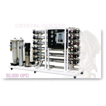 Crystal Quest CQE-CO-02036 Commercial Reverse Osmosis 50,000 GPD Water Filter System