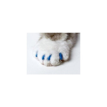 Soft Claws Small Blue CLS Nail Caps for Cats 6-8 lbs.