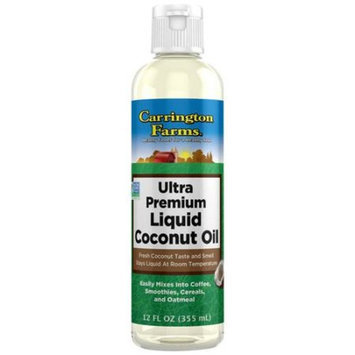Carrington Farms Ultra Premium Liquid Coconut Oil, 12 fl oz