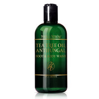 Antifungal Soap w/ Tea Tree Oil & Active Ingredient Proven Clinically Effective in Athletes Foot, Jock Itch & Ringworm Treatment. (2 Bottles) Helps Body Acne & Odor
