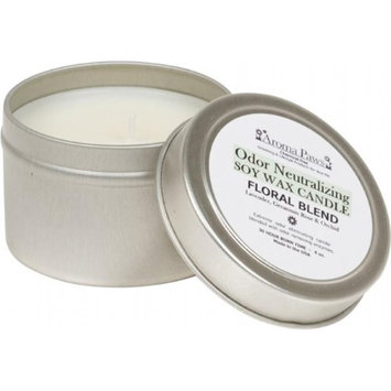 Aroma Paws 418 4 OZ. ODOR NEUTRALIZING CANDLE IN TIN-FLORAL