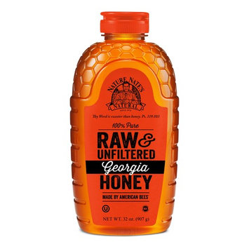 Nature Nate's 100% Pure, Raw and Unfiltered Georgia Honey, 32 oz.