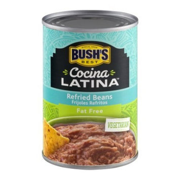 BUSH'S BEST Cocina Latina Refried Beans Fat Free 16.0 OZx2 Can