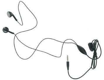 PCD EM2080B-Z PCD Universal Headset With In-Line Mic - Black
