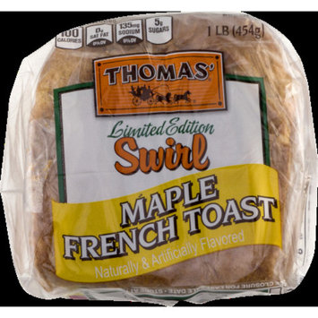 Thomas' Maple French Toast Swirl Breakfast Bread, 16 oz