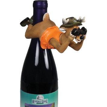 River's Edge Deer Wine Bottle Hanger