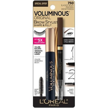 L'Oreal Paris Voluminous Mascara and Brow Stylist Cosmetic Set
