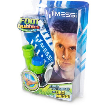10vox Entertainment Messi Foot Bubbles Starter Pack with 2 Socks - Blue