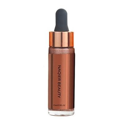Moreocme Women Face Glow Glitter Concealer,Body Flash Highlighter Liquid Concealer Health Shimmer Makeup Concealer